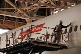 さもんほうさくさんが、羽田空港で撮影した日本航空 777-346/ERの航空フォト(飛行機 写真・画像)