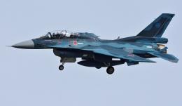 青い翼に鎧武者マークの!さんが、岐阜基地で撮影した航空自衛隊 F-2Bの航空フォト(写真)