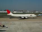 デデゴンさんが、福岡空港で撮影した日本航空 747-146B/SR/SUDの航空フォト(写真)