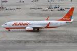 rjジジィさんが、中部国際空港で撮影したチェジュ航空 737-8ASの航空フォト(写真)