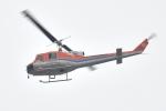 500さんが、自宅上空で撮影した新日本ヘリコプター 204B-2(FujiBell)の航空フォト(写真)