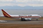 camelliaさんが、中部国際空港で撮影したカリッタ エア 747-4B5F/SCDの航空フォト(写真)