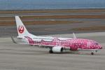 camelliaさんが、中部国際空港で撮影した日本トランスオーシャン航空 737-8Q3の航空フォト(写真)