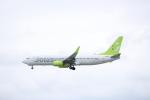 さんたまるたさんが、那覇空港で撮影したソラシド エア 737-86Nの航空フォト(写真)