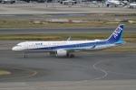 pringlesさんが、羽田空港で撮影した全日空 A321-272Nの航空フォト(写真)