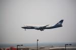 T.Sazenさんが、関西国際空港で撮影したシルクウェイ・ウェスト・エアラインズ 747-83QFの航空フォト(飛行機 写真・画像)