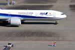 まいけるさんが、羽田空港で撮影した全日空 777-381/ERの航空フォト(写真)