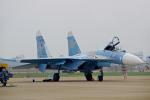 ちゃぽんさんが、珠海金湾空港で撮影したロシア空軍 Su-27Pの航空フォト(写真)