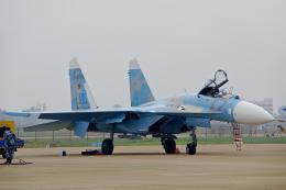ちゃぽんさんが、珠海金湾空港で撮影したロシア空軍 Su-27Pの航空フォト(飛行機 写真・画像)