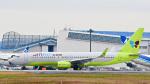 パンダさんが、成田国際空港で撮影したジンエアー 737-8Q8の航空フォト(飛行機 写真・画像)