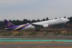 みるぽんたさんが、成田国際空港で撮影したタイ国際航空 777-3D7の航空フォト(写真)