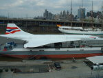 せせらぎさんが、イントレピッド海上航空宇宙博物館で撮影したブリティッシュ・エアウェイズ Concorde 102の航空フォト(写真)