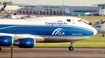 誘喜さんが、ロンドン・ヒースロー空港で撮影したカーゴロジックエア 747-446F/SCDの航空フォト(写真)