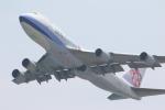 MA~RUさんが、関西国際空港で撮影したチャイナエアライン 747-409F/SCDの航空フォト(写真)