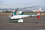 kumagorouさんが、仙台空港で撮影したアカギヘリコプター AS350B2 Ecureuilの航空フォト(写真)
