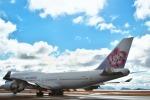nh747dさんが、広島空港で撮影したチャイナエアライン 747-409の航空フォト(写真)