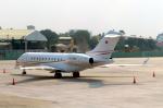 なごやんさんが、タンソンニャット国際空港で撮影したMagenta Aviation Ltd BD-700-1A11 Global 5000の航空フォト(写真)