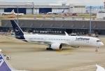 あしゅーさんが、羽田空港で撮影したルフトハンザドイツ航空 A350-941XWBの航空フォト(写真)