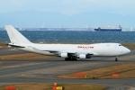 ウッディーさんが、中部国際空港で撮影したカリッタ エア 747-4B5F/SCDの航空フォト(写真)