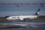 飛行機ゆうちゃんさんが、羽田空港で撮影したスカイマーク 737-8FZの航空フォト(写真)
