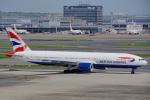 ちゃぽんさんが、羽田空港で撮影したブリティッシュ・エアウェイズ 777-236/ERの航空フォト(飛行機 写真・画像)