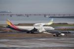 飛行機ゆうちゃんさんが、羽田空港で撮影したアシアナ航空 A330-323Xの航空フォト(写真)
