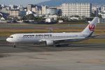 神宮寺ももさんが、伊丹空港で撮影した日本航空 767-346/ERの航空フォト(写真)