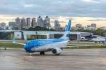 BOSTONさんが、ホルヘ・ニューベリー空港で撮影したアルゼンチン航空 737-7Q8の航空フォト(写真)