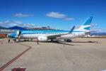 BOSTONさんが、ウシュアイア=マルビナス・アルゼンチン国際空港で撮影したアルゼンチン航空 737-8HXの航空フォト(写真)