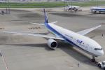 ちゃぽんさんが、羽田空港で撮影した全日空 777-381/ERの航空フォト(飛行機 写真・画像)