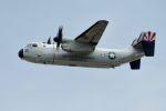うめやしきさんが、厚木飛行場で撮影したアメリカ海軍 C-2A Greyhoundの航空フォト(写真)