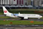 れんしさんが、福岡空港で撮影した日本トランスオーシャン航空 737-8Q3の航空フォト(写真)