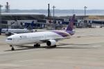 ハピネスさんが、中部国際空港で撮影したタイ国際航空 777-3D7の航空フォト(写真)