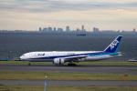 Arvinedさんが、羽田空港で撮影した全日空 777-281/ERの航空フォト(写真)