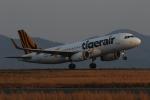 endress voyageさんが、岡山空港で撮影したタイガーエア台湾 A320-232の航空フォト(写真)