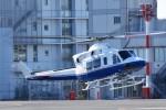 ヘリオスさんが、東京ヘリポートで撮影したティー・エム・シー・インターナショナル 412EPの航空フォト(写真)