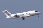 yabyanさんが、中部国際空港で撮影したプライベートエア CL-600-2B16 Challenger 650の航空フォト(飛行機 写真・画像)