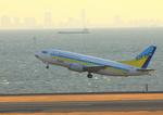 ふじいあきらさんが、羽田空港で撮影したAIR DO 737-54Kの航空フォト(写真)