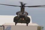 木人さんが、那覇空港で撮影した陸上自衛隊 CH-47JAの航空フォト(写真)