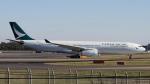 raichanさんが、成田国際空港で撮影したキャセイパシフィック航空 A330-343Xの航空フォト(写真)