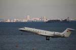 motokimuさんが、羽田空港で撮影した南山公務 G500/G550 (G-V)の航空フォト(写真)