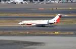 ハム太郎。さんが、羽田空港で撮影したTAG エイビエーション・アジア BD-700 Global Express/5000/6000の航空フォト(写真)