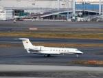 ハム太郎。さんが、羽田空港で撮影した南山公務 G500/G550 (G-V)の航空フォト(写真)
