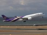 6500さんが、中部国際空港で撮影したタイ国際航空 A350-941XWBの航空フォト(写真)