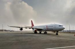 BTYUTAさんが、カイロ国際空港で撮影したエア・レジャー A340-212の航空フォト(飛行機 写真・画像)