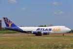 安芸あすかさんが、成田国際空港で撮影したアトラス航空 747-48EF/SCDの航空フォト(写真)