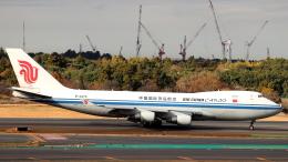 誘喜さんが、成田国際空港で撮影した中国国際貨運航空 747-4FTF/SCDの航空フォト(写真)
