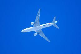 まいけるさんが、東京・浅草上空で撮影した大韓航空 777-2B5/ERの航空フォト(写真)
