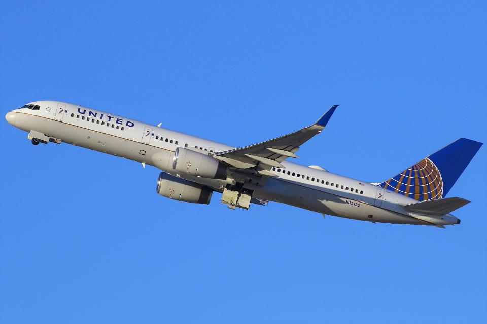 masa707さんのユナイテッド航空 Boeing 757-200 (N12125) 航空フォト