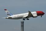 いもや太郎さんが、スワンナプーム国際空港で撮影したノルウェー・エアシャトル・ロングホール 787-8 Dreamlinerの航空フォト(写真)